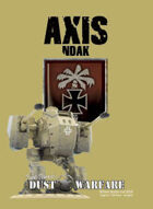 Dust Warfare Cards: Axis - NDAK 1947