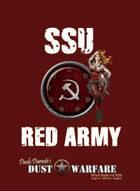 Dust Warfare Cards: SSU - Red Army 1947