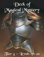 Deck of Magical Mystery Tier 4
