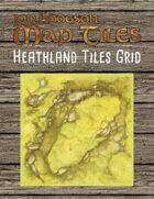 Jon Hodgson Map Tiles - Heathland Tiles With Grid