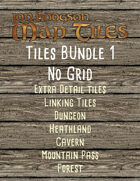 Jon Hodgson Map Tiles Bundle 1 No Grid [BUNDLE]