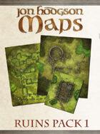 Jon Hodgson Maps - Ruins Pack 1