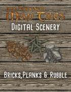 Jon Hodgson Maps - Bricks, Planks and Rubble