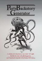 Party Backstory Generator