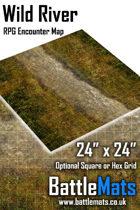 "Wild River 24"" x 24"" RPG Encounter Map"