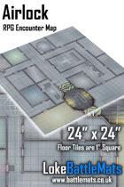 "Airlock 24"" x 24"" RPG Encounter Map"