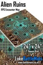 "Alien Ruins 24"" x 24"" RPG Encounter Map"