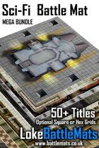 Mega Battle Mat Bundle - SciFi [BUNDLE]