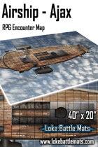 "Airship - Ajax 40"" x 20"" RPG Encounter Map"