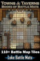 Towns & Taverns - Books of Battle Mats (Digital Edition) 110+ Digital battle map tiles