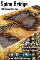 Spine Bridge 48x24 RPG Encounter Map Pack