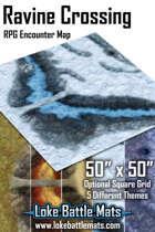Ravine Crossing 50x50 RPG Encounter Map Pack