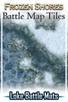 Frozen Shores Battle Map Tiles