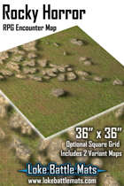 Rocky Horror 36x36 RPG Encounter Map
