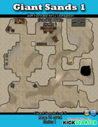 50+ Fantasy RPG Maps 1: (11 of 94) Giant Sands 1
