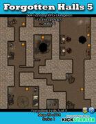 50+ Fantasy RPG Maps 1: (20 of 94) Forgotten Halls 5