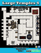 50+ Fantasy RPG Maps 1: (34 of 95) Large Temples 4