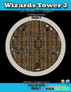 50+ Fantasy RPG Maps 1: (43 of 95) Wizard's Tower 3