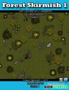 50+ Fantasy RPG Maps 1: (54 of 95) Forest Skirmish 1