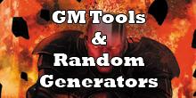 GM Tools & Random Generators