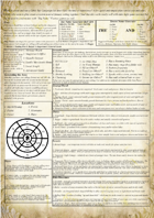 Two Page Fantasy Setting Generator