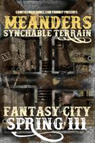 Meanders Map Pack: Fantasy City - Spring III