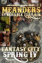 Meanders Map Pack: Fantasy City - Spring IV