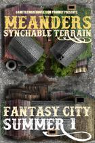 Meanders Map Pack: Fantasy City - Summer I