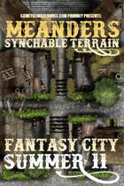 Meanders Map Pack: Fantasy City - Summer II