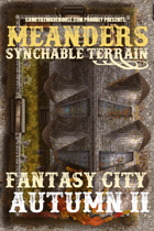 Meanders Map Pack: Fantasy City - Autumn II