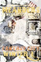 Meanders Map Pack: Fantasy City - Winter I