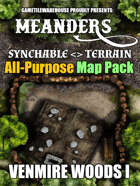 Meanders All-Purpose Map Pack - VENMIRE WOODS I