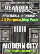 Meanders All-Purpose Map Pack - MODERN CITY EXTERIORS
