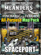 Meanders All-Purpose Map Pack - SPACEPORT I