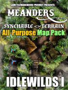 Meanders All-Purpose Map Pack - THE IDLEWILDS I