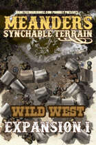 Meanders All-Purpose Map Pack - WILD WEST EXPANSION I