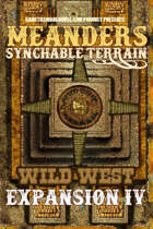 Meanders All-Purpose Map Pack - WILD WEST EXPANSION IV