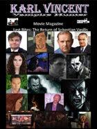 Karl Vincent: Vampire Hunter movie magazine