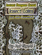 Instant Dungeon Crawl: Insect Lairs