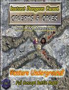 Instant Dungeon Crawl: Caverns & Caves