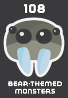 108 Bear-Themed Monsters (or Friends)