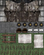 Adventure Realm Map Tiles - Castle and Dungeon Extras