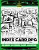 INDEX CARD RPG Vol. 3
