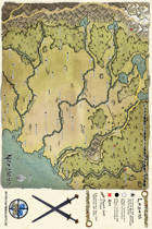Northern Nordlond Area Map