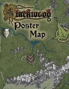 "Blackwood 12""x18"" Poster Map"