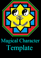Very Detailed Magical Charater Template