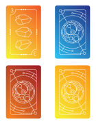 Keyforge Compatible Mini Card Tokens