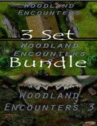 Woodland Encounters 3 pack Bundle