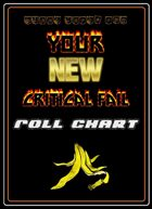Your New Critical Fail Roll Chart