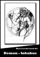 BlaszczecArt Stock Art: Demon - Inkubus
